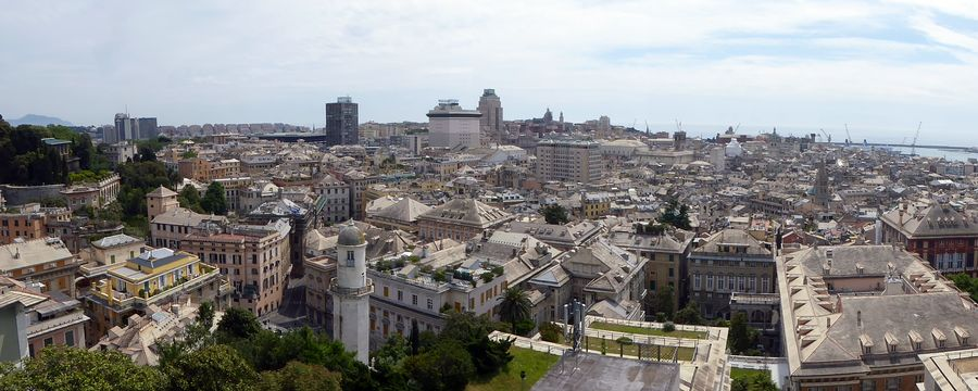 Genua in Italien